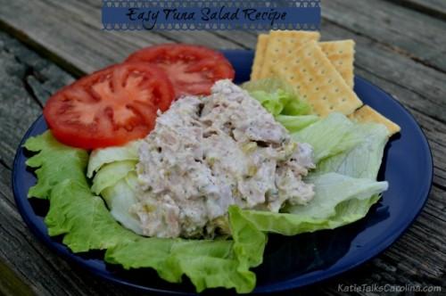 Easy Tuna Salad Recipe