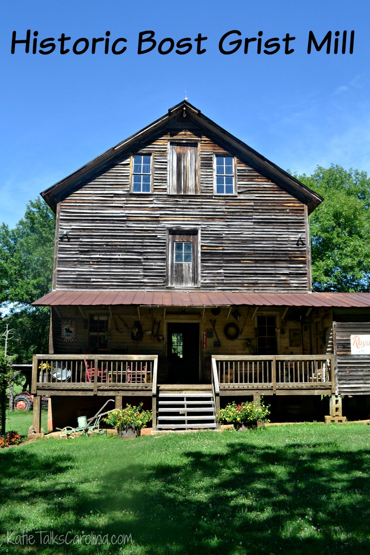 Historic Bost Grist Mill in Concord, NC