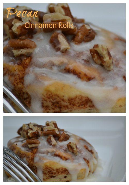 Yummy Pecan Cinnamon Rolls