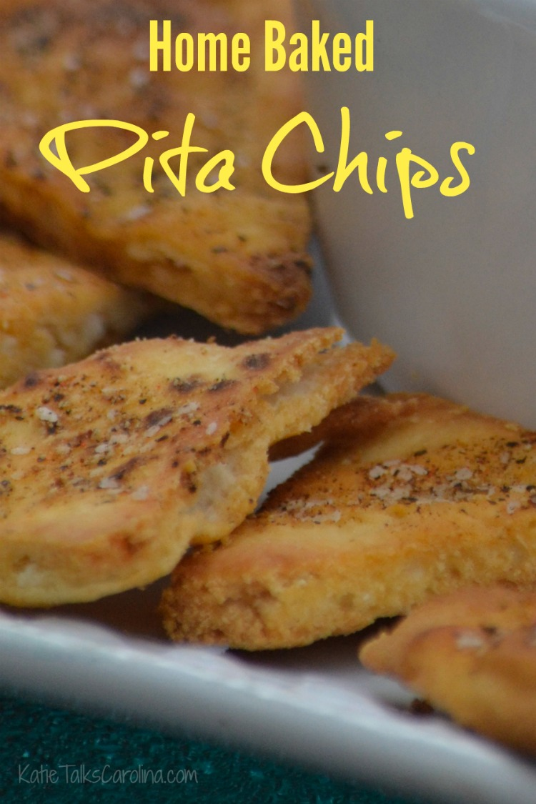 Home Baked Pita Chips