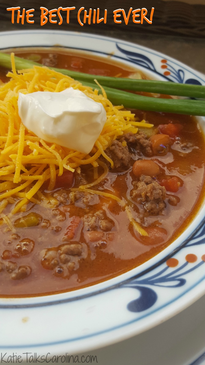 The Best Chili Ever Seriously
