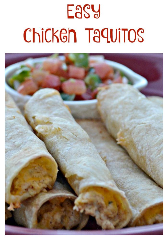 Easy Chicken Taquitos Recipe