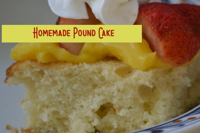 Homemade Pound Cake