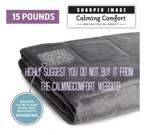Think Twice Before Purchasing the Calming Comfort Blanket on their website